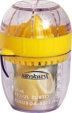 Trudeau 1/2 Cup Citrus Juicer with Pouring Spout - Lemon Yel