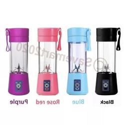 Portable Blender USB Juicer Cup Fruit Mixing Machine Recharg