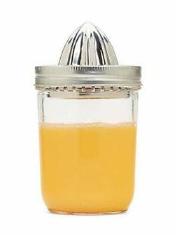 Jarware 82654 Citrus Juicer Lid Wide Mouth Stainless Steel -