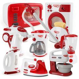 Christmas Children Gift Play Kitchen Home Appliances Kids Pr
