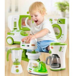 Christmas Children Gift Play Kitchen Home Appliances Kid Pre