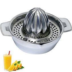 Lu Cucina Citrus Juicer & Strainer - Stainless Steel - Make