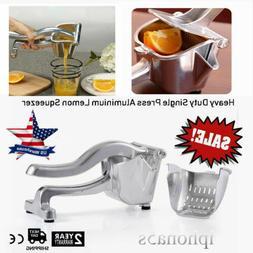 Commercial Bar Manual Hand Lemon Squeezer Citrus Press Juice