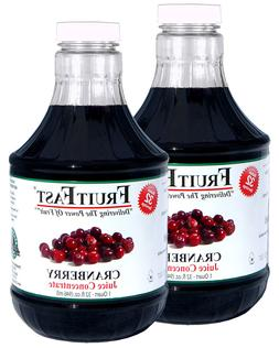 """Cranberry Juice Concentrate """"Cold Filled"""" 2 QUARTS, 64 Day S"""