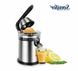 Electric Citrus Juicer Stainless Steel Orange Lemon Or Lime