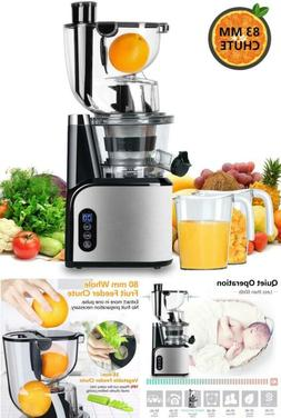 Electric Juice Extractor Slow Masticating Juicer Machine For