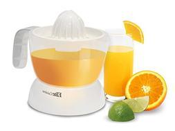 Elite Cuisine ETS-411 Maxi-Matic 20-Ounce Citrus Juicer, Whi
