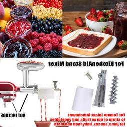 fruit and vegetable strainer attachment tomato juicer
