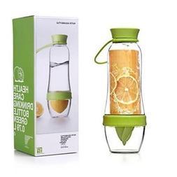 Fruit-Infusing Water Bottle & Juicer - Green