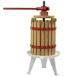 Fruit Wine Cider Press Apple Grapes Crusher Juice Maker Juic