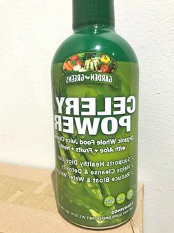 Garden Greens CELERY POWER Organic Keto Juice Cleanse with A
