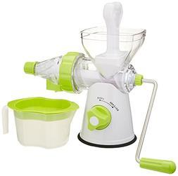 Norpro Hand Crank Juicer Fruit Vegetables Wheat Grass Green