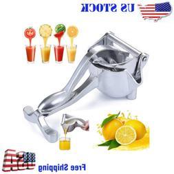 heavy duty manual fruit juicer press lemon