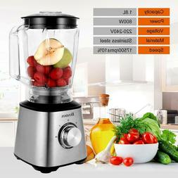 HOMDOX 700W Commercial High-Speed Blenders Mixer Juicer Food