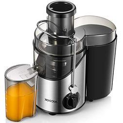 Juicer, Juice Extractor, Aicook Juicer Machine with 3'' Wide