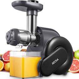 Juicer Machine, Aicok Slow Masticating Juicer with Quiet Mot