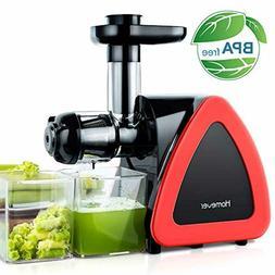 Juicer Machines, Homever Slow Masticating Juicer for Fruits