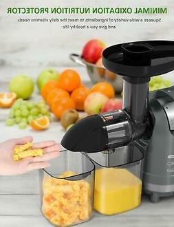 Juicer Vegetables Wheatgrass Fruits Juice Cold Press with Qu