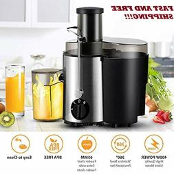 Centrifugal Juice Extractor Wide Mouth BPA Free Dual Speed 3