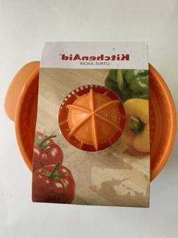 kitchen aid citrus juicer orange lid clear
