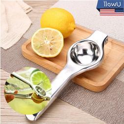 Kitchen & Bar Stainless Steel Lemon Orange Lime Squeezer Jui