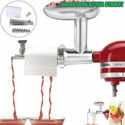 kitchenaid stand mixer tomato and fruit juicer