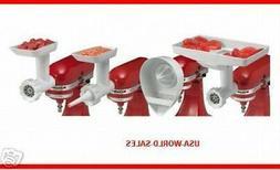 KitchenAid KN12AP Stand-Mixer Attachment Food Grinder, Sausa