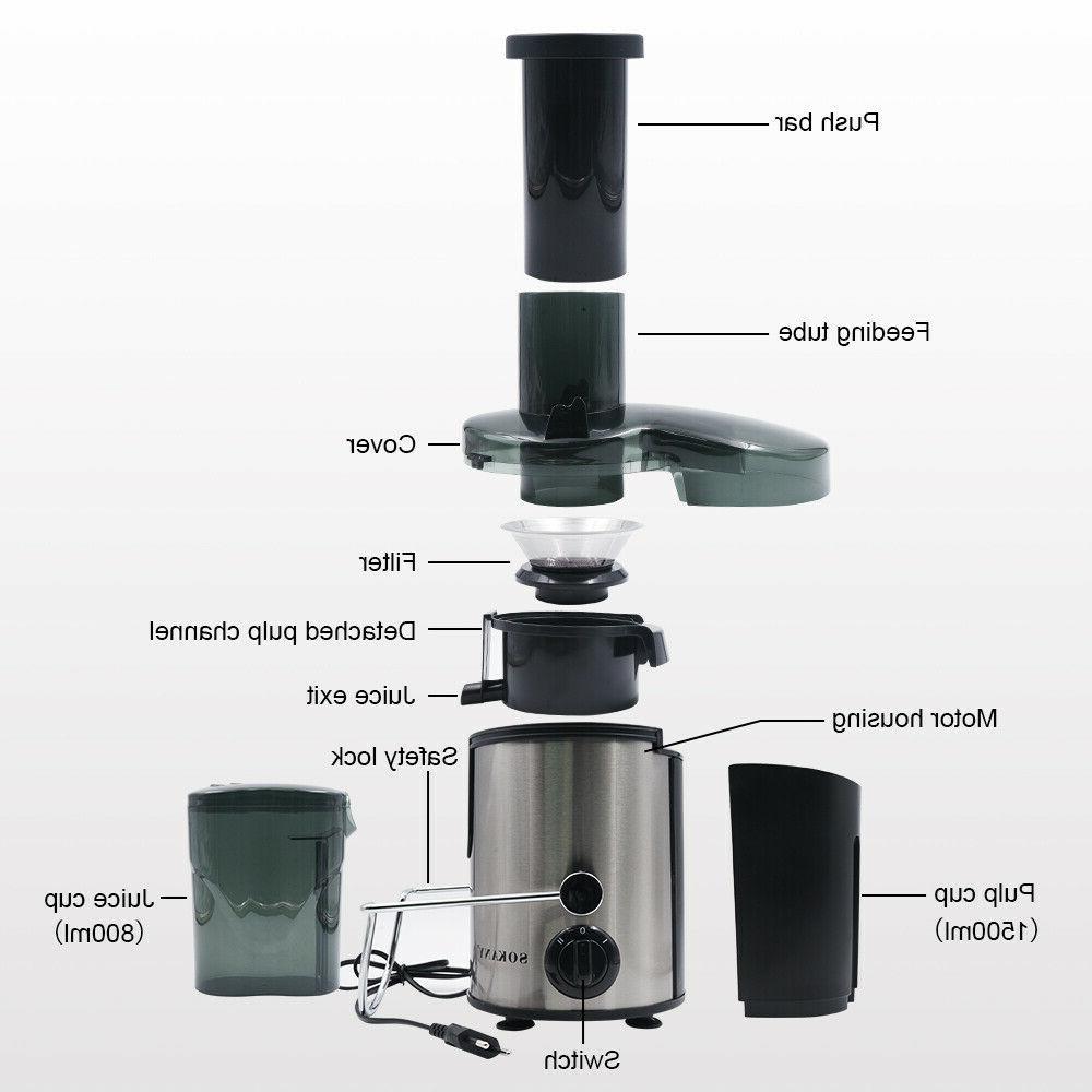 1500ml Home Electric Juice Extractor Extractor Maker Machine