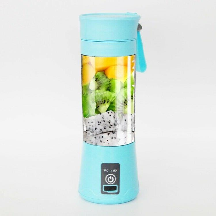 380ml Personal Blender Juicer Mix Rechargeable Cordless