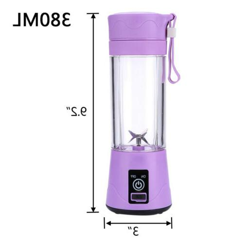 380ml Blender Rechargeable Mixer Machine