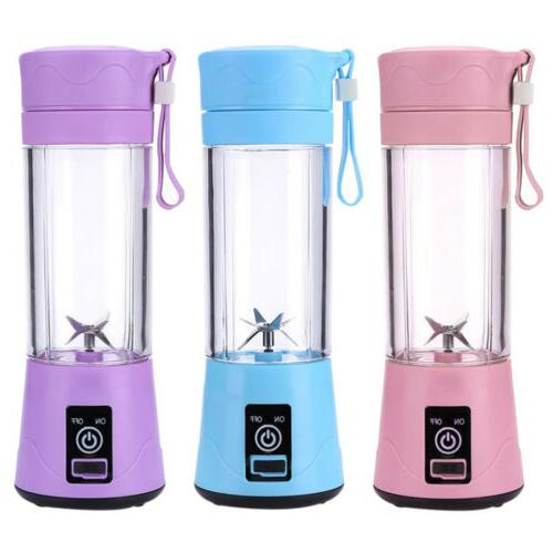 380ml Portable Rechargeable Smoothies Mixer