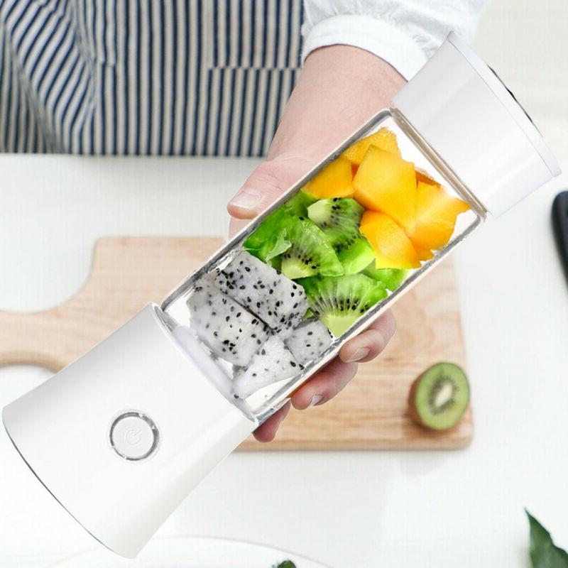 Electric Juicer Cup Fruit Blender Juice Extractor Water Bottle