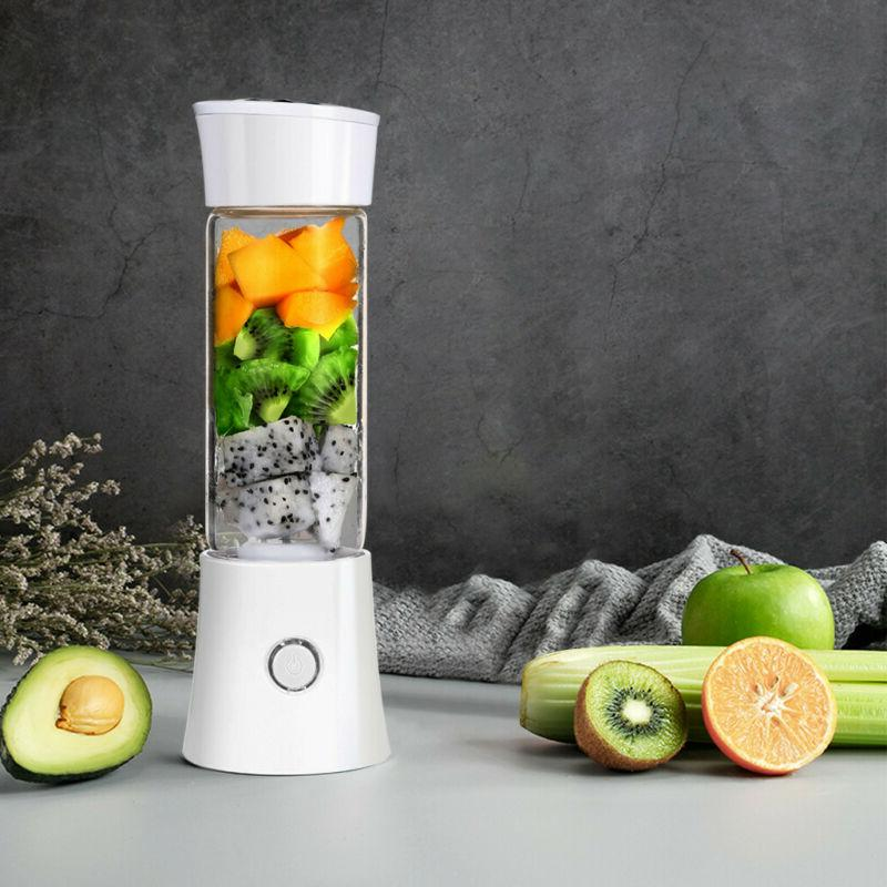 Electric Juicer Cup USB Fruit Vegetable Blender Juice Extrac