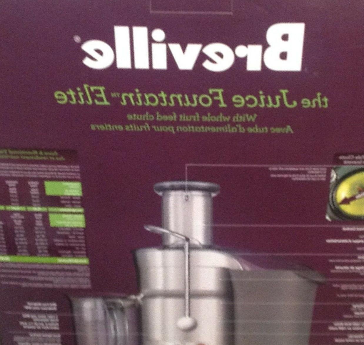 Breville Juice Fountain Elite Extractor Brand