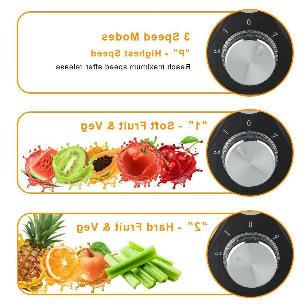 800W 1500ML Juice Machines Fruit