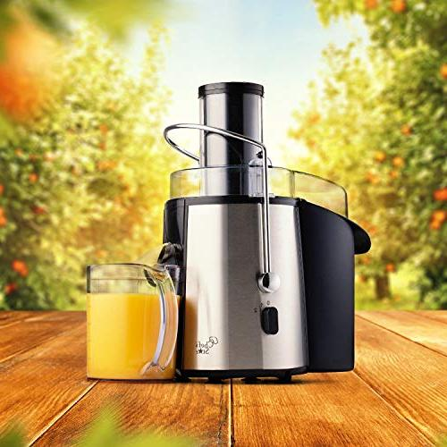 Juicer Extractor Fruit & Maker Quiet 700 Power Motor, Wide Mouth For Vegetables Easy Best Kitchen - BPA