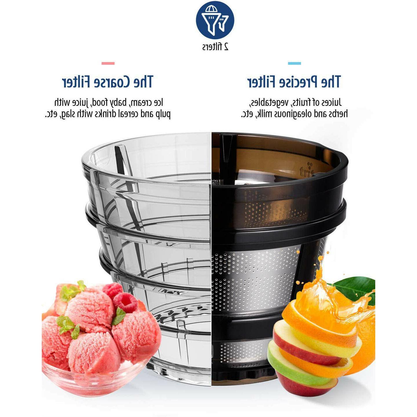 COMFEE' BPA Juicer Extractor Ice Cream Mint