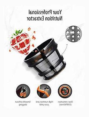 COMFEE' BPA Juicer Extractor Ice Cream