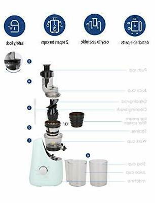 COMFEE' Juicer Extractor with Cream Maker