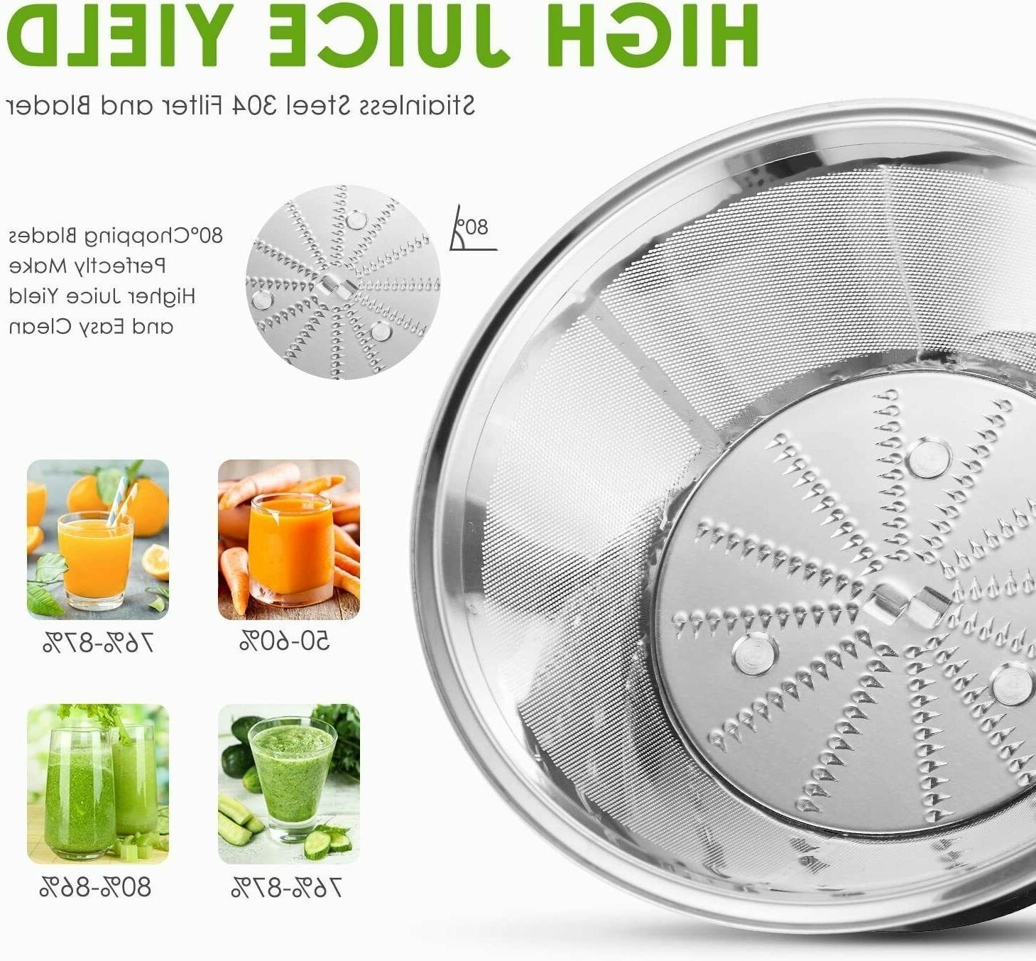 Extractor Jugos Para Frutas Inoxidable Exprimidor jugo