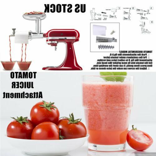 Food JUICER Vegetable Strainer Part For Kitchenaid Mixer