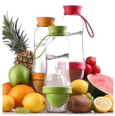 Fruit-Infusing Bottle & Juicer -