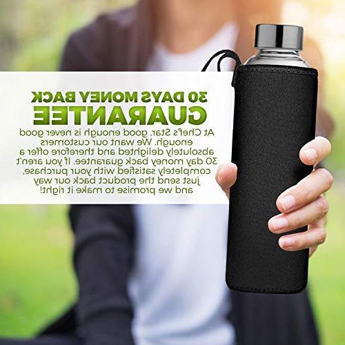 Bottle Bottles Beverages Juicer Leak Carrying Loop 6 Protection Sleeve