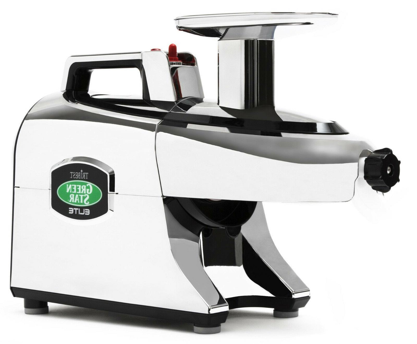 Tribest Greenstar Elite GSE-5050 Jumbo Twin Gear Slow Mastic
