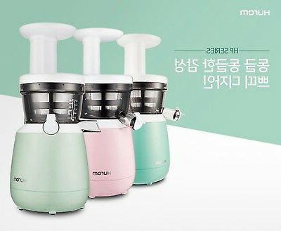 Hurom HP-MWF12 Juicer Pastel Compact Multi Squeezer Blender Mint