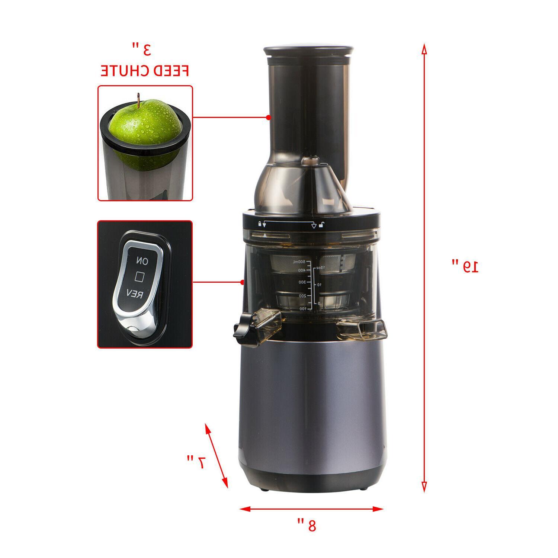 Juicer Juice Cold Press Maker Fruit