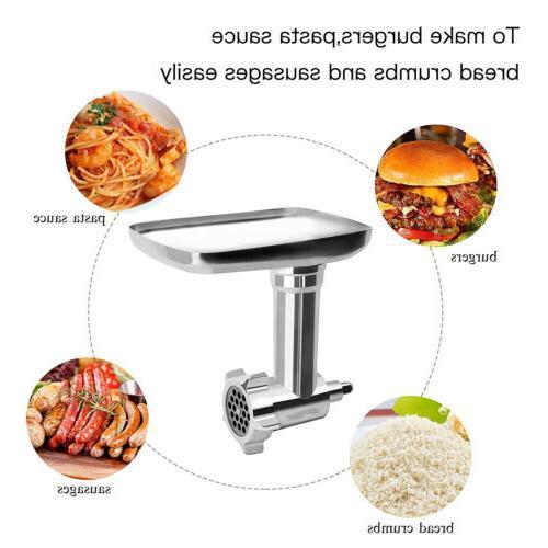 For KitchenAid Cuisinart Meat Grinder Juicer Slicer
