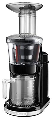 KitchenAid KVJ0111OB Maximum Extraction Juicer, Onyx Black
