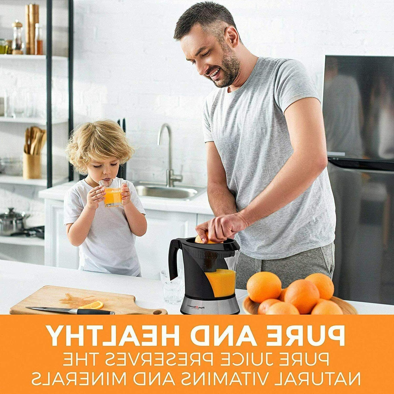 Lime/Lemon/Orange/Citrus Electric Juicer Juice Control,1L