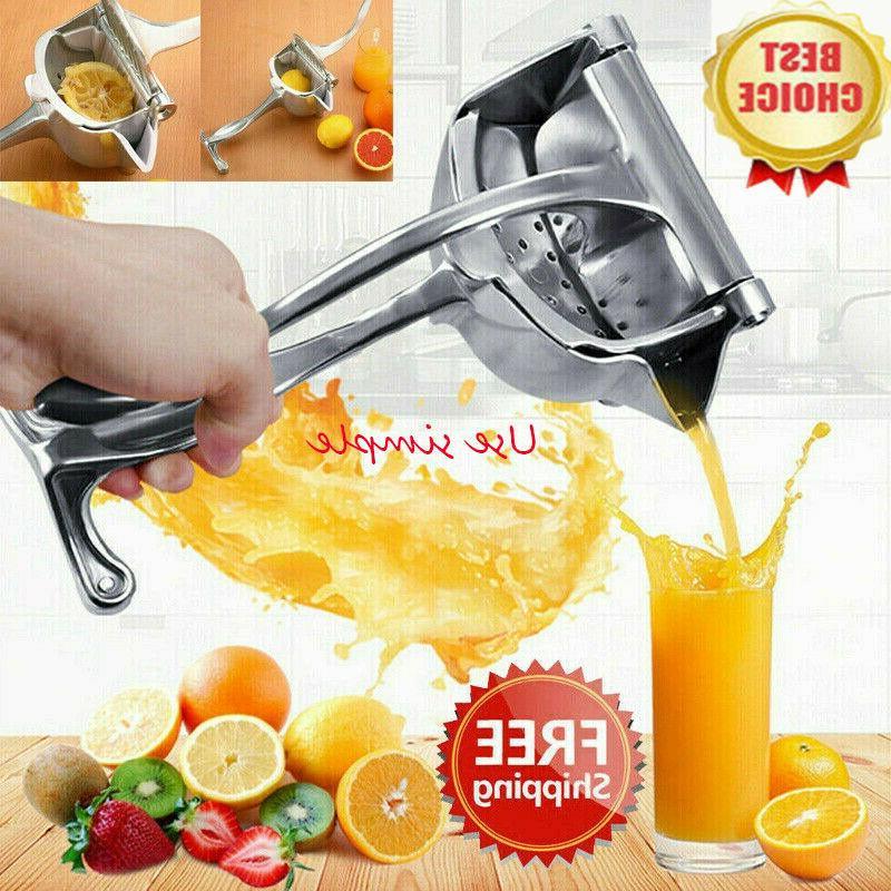 Fruit Juicer Extractor Manual Stainless Steel Juicer Hand Ju